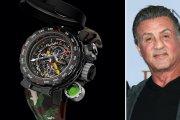 Oto zegarek za milion dolarów, który przetrwa wszystko - zaprojektował go Sylvester Stallone