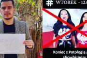 Siostry Godlewskie śpiewają polski hymn, a bracia Collins grożą im za to sądem