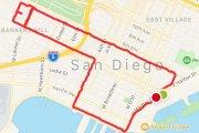 Ta dziewczyna tworzy trasy w kształcie penisów w aplikacji do biegania