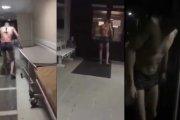 Rosjanin z nożem w plecach wyszedł ze szpitala na szluga – przy -10 stopniach