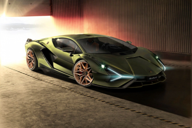 Lamborghini Sian pierwsza hybryda z Sant'Agata