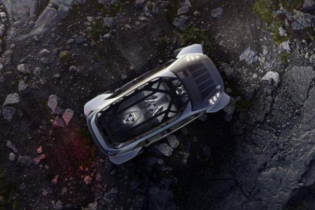Zaprezentowane na targach we Frankurcie Audi Al.Trail Quatro wygląda jak pojazd kosmiczny. Terenowe auto jest też w pełni elektryczne i bardzo zautomatyzowane.