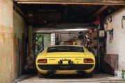 Lamborghini Miura odnalezione w szopie zlicytowane