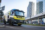 Elektryczny wóz strażacki dla dużych chłopców