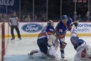 Zawodnik NHL dostał łyżwą w twarz. Jest nagranie