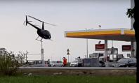 helikopter na stacji