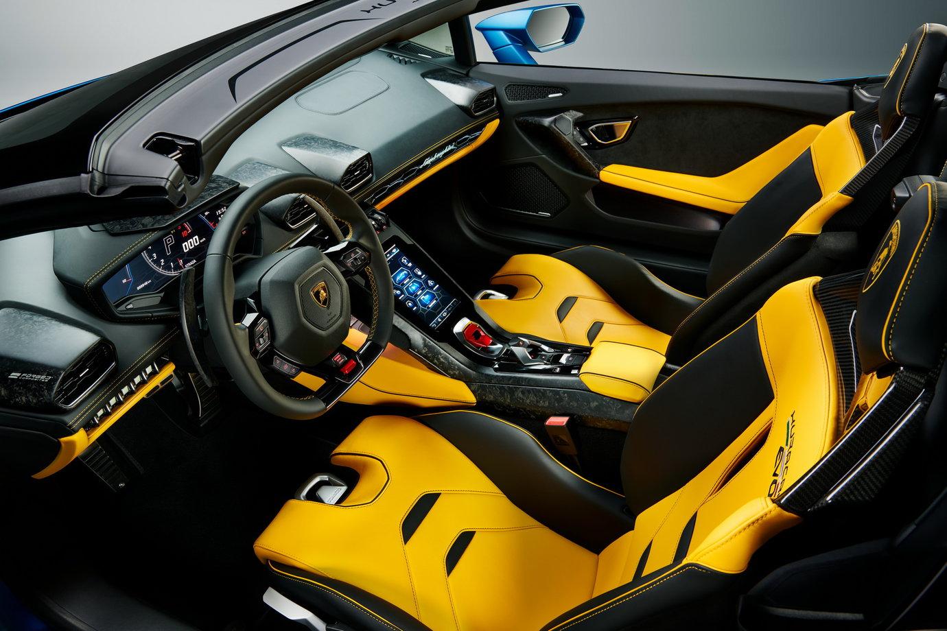 Lamborghini Huracan Evo RWD Spyder