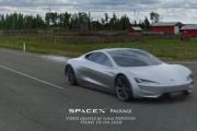 Tesla Roadster SpaceX. Tak może wyglądać przyspieszenie do setki w sekundę