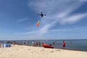 Dron ratowniczy WOPR. Wyciągnie z wody topielca (WIDEO)