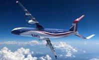hybrydowo-elektryczny samolot