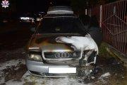 Wyrzucili go z imprezy, podpalił auto swojej dziewczynie